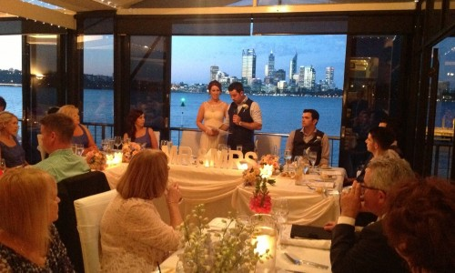 Wedding at the Boatshed
